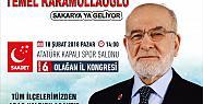 Saadet Partisi Genel Başkanı Temel Karamollaoğlu...