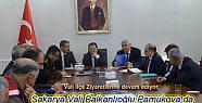 Sakarya Valisi Pamukova ya geldi.