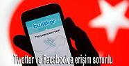 Tweetter ve Facebook a erişim neden sağlanamıyor?