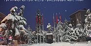 Yeniden kar yağışı güzel görüntülere...