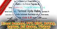 Ziraat Bankası, PTT, BİST, BOTAŞ, Çaykur,...