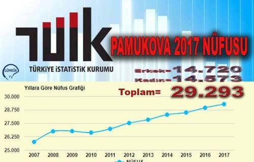 Türkiye Nüfusu 80 Milyonu aştı, Pamukova 29 bine dayandı.