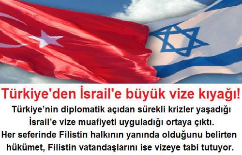 Türkiye'den İsrail'e büyük vize kıyağı!