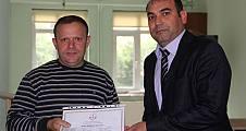 Pamukova da Kursa Katılan Başarılı Arı Yetiştiricilerine Sertifikaları verildi.