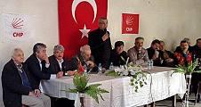 Erdoğan Isır Geyve de birlik ve beraberlik mesajı verdi.