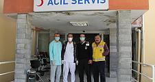 Hastanede tedbir amaçlı uygulama endişe yarattı.