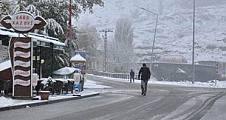 Yılın ilk karı Kars ve Erzurum'a düştü.