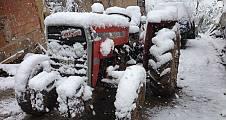 Pamukova yükseklerine kar, ilçe merkezi ise yağmur yağdı.