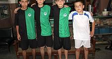 Pamukova Sporun alt yapısında top koşturan 5 genç milli takım elemelerine gitti.