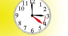 Bu gece saatlerinizi ileri almayı unutmayın.