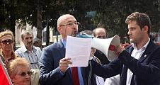 Vatan Partililer AP kararlarını protesto ettiler.