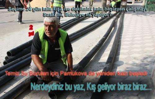 Yeni içme suyu projesi için SASKİ de açılış yapacak.
