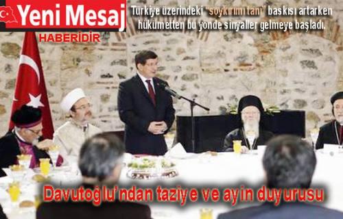 Yeni Mesaj 'AKP'de soykırımı tanıma hazırlığı' olduğunu iddia etti.