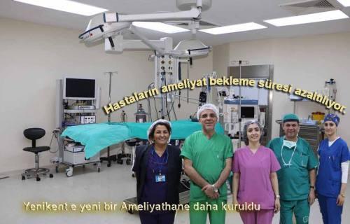 Yenikent Devlet Hastanesi 7. Ameliyathaneyi de hizmete soktu.