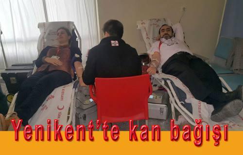 Yenikent'te kan bağışı