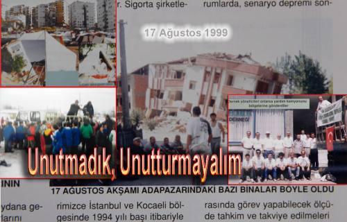 Yerin altından gelen sesler; '17 Yıl Önce Başımıza yıkılan çürük binalar bizleri öldürdü.'