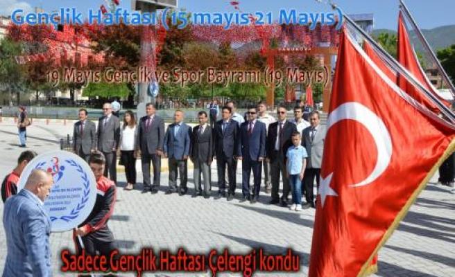 19 Mayıs Bayramı ile Gençlik Haftası birleşti.
