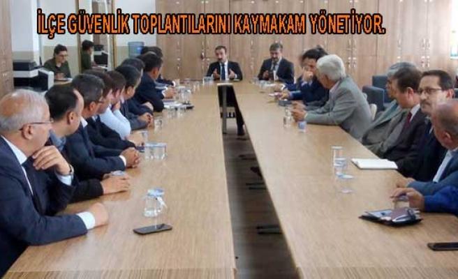 Ekim Ayı Güvenlik Toplantısı Akhisar Anadolu Lisesinde yapıldı.