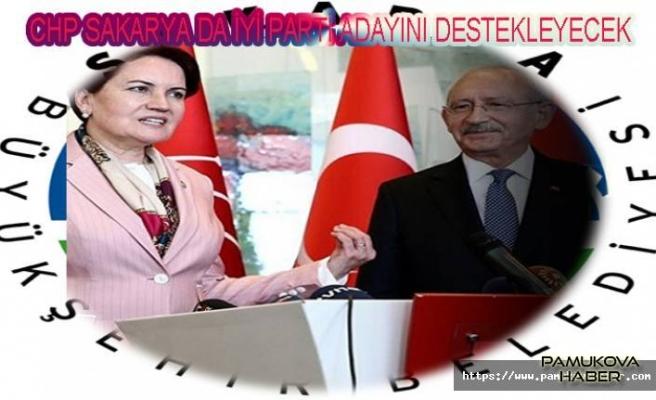 CHP ve İyi Parti Anlaştı. Sakarya'da oylar İyi Partiye