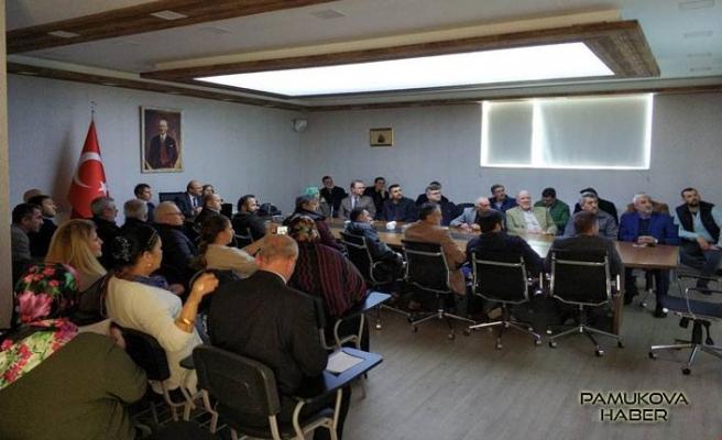 Dernekler Mevzuatı hakkında Bilgilendirme toplantısı yapıldı