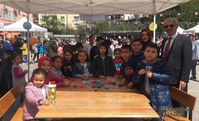75. Yıl İlkokulunda 23 Nisan etkinlikleri başladı.