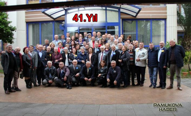 Kocaeli Eğitim Mezunları 41. Yıllarını kutladılar.
