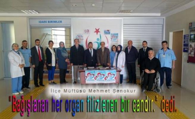 Akyazı Müftüsü, Organ bağışının İslami açıdan hiçbir sakıncası olmadığını söyledi.