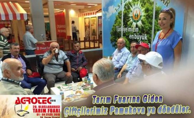 Ankara Tarım Fuarına giden çiftçiler Pamukova'ya döndüler.