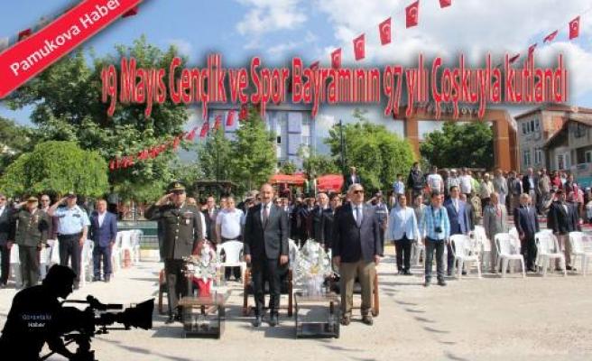 Atatürk'ü Anma  Gençlik Spor Bayramının 97. yılı kutlandı.
