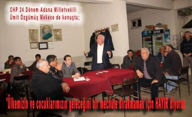 CHP'lilerin neden HAYIR dediği Pamukova da anlatıldı.