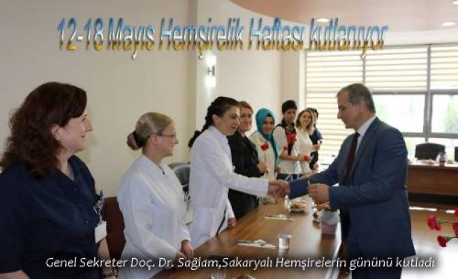 Eğitim Araştırma Hastanesinde Hemşireler günü kutlandı.