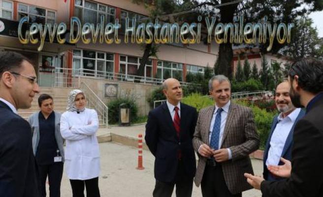 Geyve Devlet Hastanesi Yenileniyor.