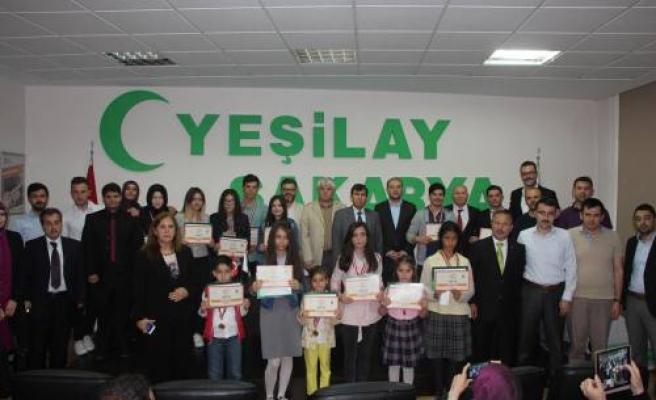 Hürriyet Anadolu Lisesi Öğrencileri Sakarya da ödül topladılar.