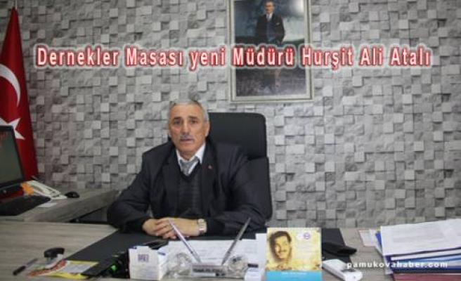İl Dernekler Müdürlüğüne Hurşit Ali Atalı atandı.