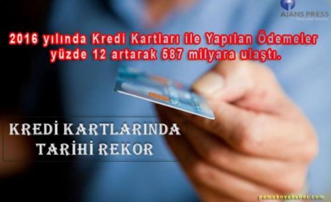 Kredi Kart Kullanımında Tarihi Rekora Ulaşıldı.