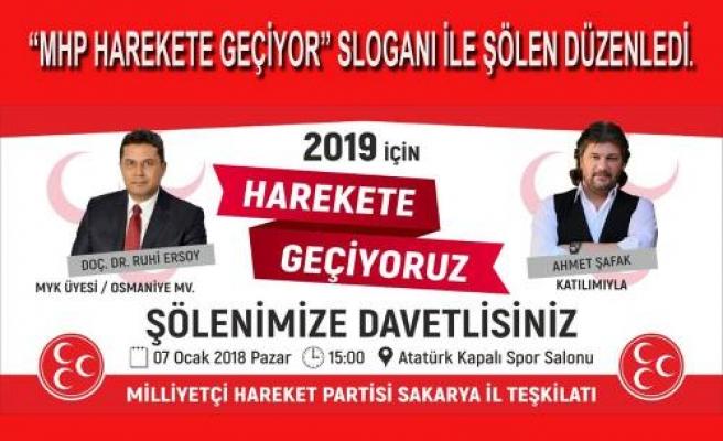 MHP 2019 İçin harekete Geçiyor.