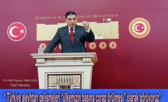 Nuri Okutan, ' T.C Cumhurbaşkanı ile ilgili yayınlar şeytanlaştırma boyutuna ulaşmıştır'