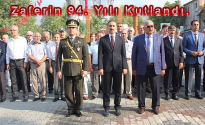 Pamukova da da 30 Ağustos Zafer Bayramı kutlandı.