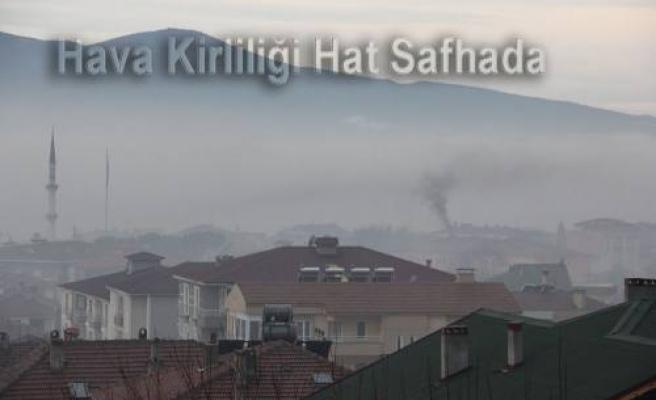Pamukova da Hava Kirliliği Hat Safhada.