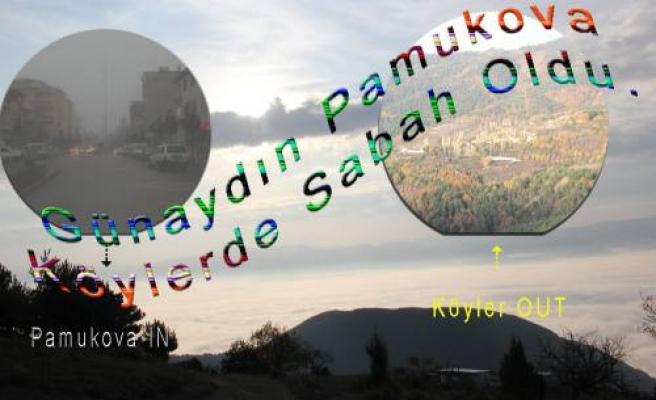 Pamukova da Sisli günler başladı.