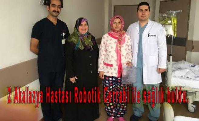 Robotik Cerrahiyle Sağlık Buldular