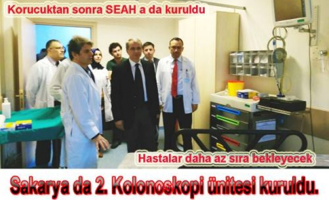 SEAH da 2. Endoskopi Ünitesi Hizmeti Girdi.