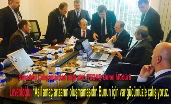 TEDAŞ Genel Müdürü SEDAŞ Projelerini çok başarılı buldu.