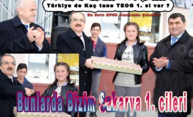 TEOG tan Kaç Türkiye 1. Si var?