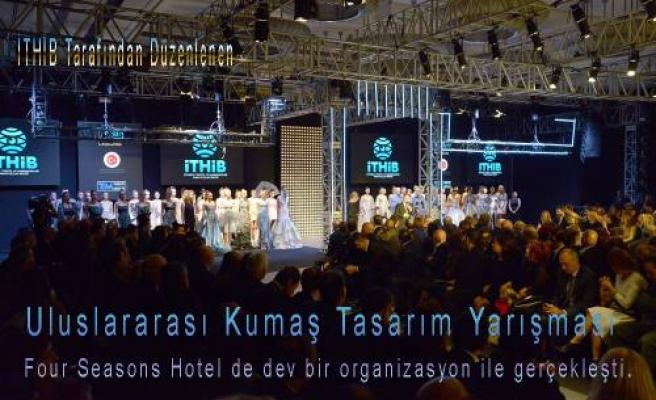 Uluslararası Kumaş Tasarım Yarışmasında Dev Organizasyon
