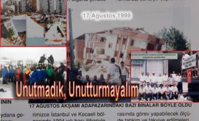 Yerin altından gelen sesler; '17 Yıl Önce Başımıza yıkılan çürük binalar bizleri öldürdü'