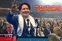 İYİ Parti İlk Kongresini yaptı. Kongrede Tarihi kalabalık oldu.