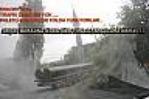 Akçay Barajına giden tonajlı araçlar Karapınar-eskiyayla yolunu bozuyor.