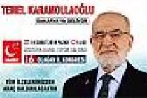 Saadet Partisi Genel Başkanı Temel Karamollaoğlu Sakarya'ya geliyor.