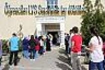 SAÜ'de LYS sınavına giren öğrenciler ter döktüler.